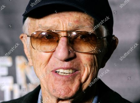 """Haskell Wexler Cinematographer Haskell Wexler poses at the premiere of the documentary film """"Revenge of the Electric Car,"""" at Tesla Motors in Los Angeles. Wexler, the two-time Oscar-winning cinematographer and prominent social activist, died . He was 93"""