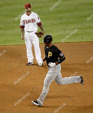Editorial image of Pirates Diamondbacks Baseball, Phoenix, USA