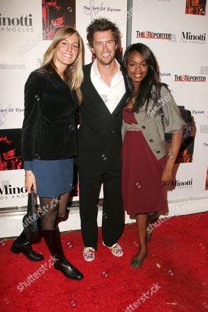 Crystal Fambrini with Blake Mycoskie and Nzinga Blake