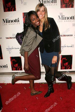 Nzinga Blake and Crystal Fambrini