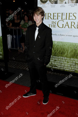 """Chase Ellison Cast member Chase Ellison arrives at the premiere of """"Fireflies in the Garden"""" in Los Angeles, . """"Fireflies in the Garden"""" opens in theaters Oct. 14, 2011"""