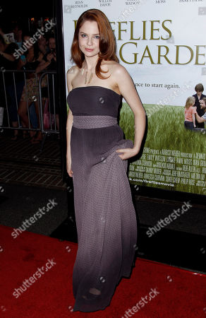 """Shannon Lucio Cast member Shannon Lucio arrives at the premiere of """"Fireflies in the Garden"""" in Los Angeles, . """"Fireflies in the Garden"""" opens in theaters Oct. 14, 2011"""