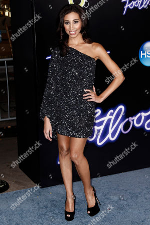 "Stock Photo of Ziah Colon Cast member Ziah Colon arrives at the premiere of ""Footloose"" in Los Angeles, . ""Footloose"" opens in theaters Oct. 14, 2011"