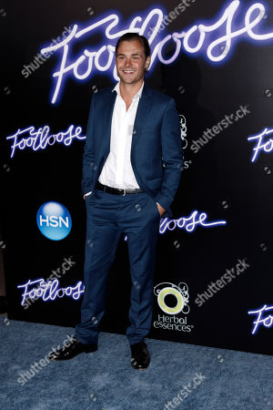 """Patrick John Flueger Patrick John Flueger arrives at the premiere of """"Footloose"""" in Los Angeles, . """"Footloose"""" opens in theaters Oct. 14, 2011"""
