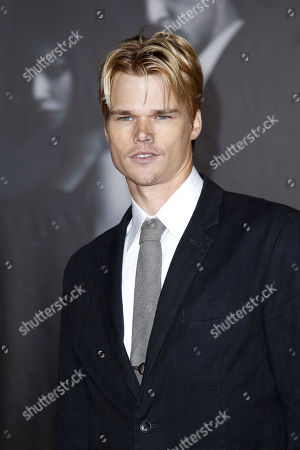 """Brendan Miller Cast member Brendan Miller arrives at the premiere of """"In Time"""" in Los Angeles, . """"In Time"""" opens in theaters Oct. 28, 2011"""