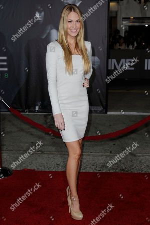 """Sarah Carroll Sarah Carroll arrives at the premiere of """"In Time"""" in Los Angeles, . """"In Time"""" opens in theaters Oct. 28, 2011"""