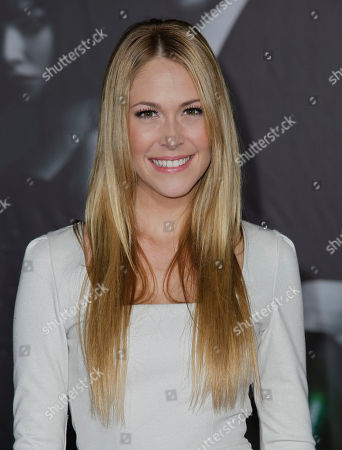"""Stock Photo of Sarah Carroll Sarah Carroll arrives at the premiere of """"In Time"""" in Los Angeles, . """"In Time"""" opens in theaters Oct. 28, 2011"""