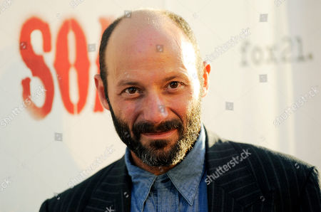 """Michael Ornstein Michael Ornstein, a cast member in """"Sons of Anarchy,"""" poses at a screening of the fourth season premiere of the television series, in Los Angeles. The premiere is set on air on the FX network on Sept. 6"""