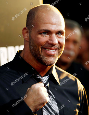 """Kurt Angle Actor Kurt Angle arrives at the premiere of """"Warrior"""" in Los Angeles, . """"Warrior"""" opens in theaters Sept. 9, 2011"""