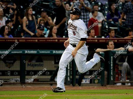 J B Shuck Houston Astros' J.B. Shuck runs home in a baseball game against the Colorado Rockies, in Houston