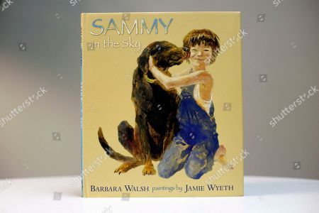 """Stock Picture of This photo shows a copy of the new children's book, """"Sammy in the Sky,"""" in Portland, Maine. The story was written by Barbara Walsh and illustrated by Jamie Wyeth"""