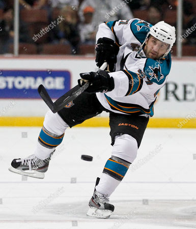 Sean Sullivan San Jose Sharks defenseman Sean Sullivan plays against the Anaheim Ducks during an NHL preseason hockey game in Anaheim, Calif