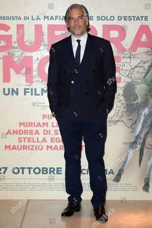 Editorial image of 'In The War For Love' film premiere, Rome Film Festival, Italy - 12 Oct 2016