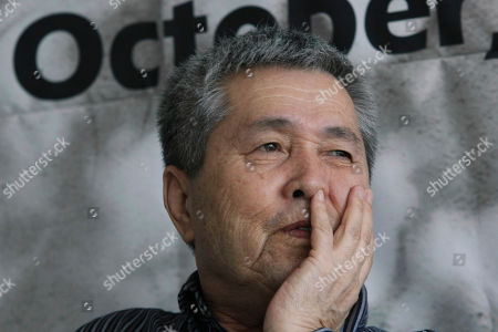 Im Kwon-taek South Korean director Im Kwon-taek reacts in an interview with The Associated Press during the Busan International Film Festival in Busan, South Korea, . Im said he did not imagine he would be so successful when he was a boy selling combat boots on the streets of Busan while the city was besieged by North Korean forces in a 1950 attack