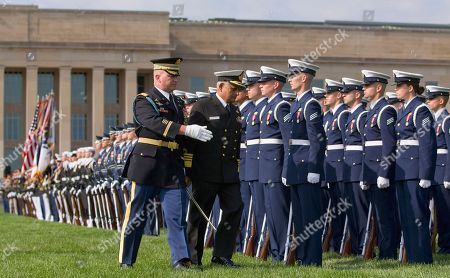 Nirmal Verma India's Chairman of the Chiefs of Staff Committee Adm. Nirmal Verma, right, inspects the troops during a full honors arrival ceremony at the Pentagon