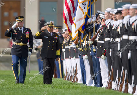 Nirmal Verma India's Chairman of the Chiefs of Staff Committee Adm. Nirmal Verma inspects the troops during a full honors arrival ceremony a the Pentagon