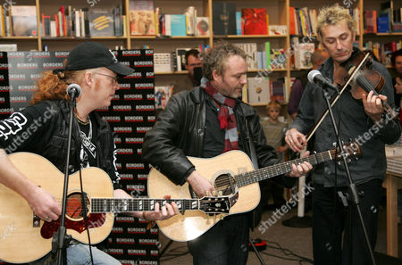 Simon Friend, Mark Chadwick and Jon Sevink
