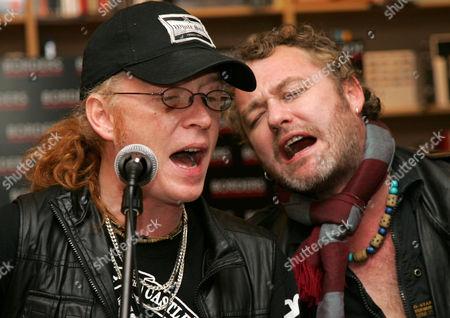 Simon Friend and Mark Chadwick