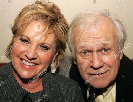 Lorna Luft and Ken Kercheval