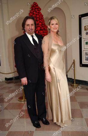 Ron Silver and Patricia Duff