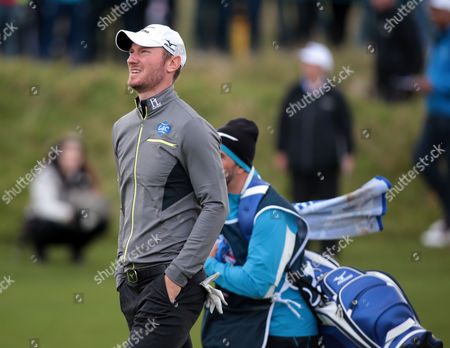 Chris Woods (ENG) during The British Masters 2016 supported by SkySports Round One at The Grove Golf Course on October 13, 2016 in Watford, England.