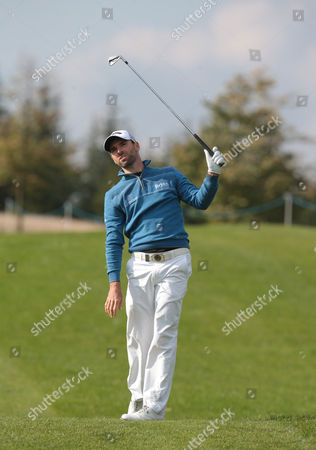 Oliver Wilson (ENG) during The British Masters 2016 supported by SkySports Round One at The Grove Golf Course on October 13, 2016 in Watford, England.