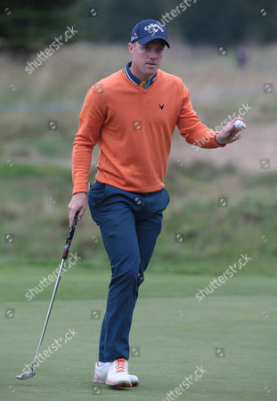David Horsey (ENG ) during The British Masters 2016 supported by SkySports Round One at The Grove Golf Course on October 14, 2016 in Watford, England.