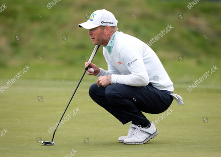Matt Ford  (ENG) during The British Masters 2016 supported by SkySports Round One at The Grove Golf Course on October 14, 2016 in Watford, England.