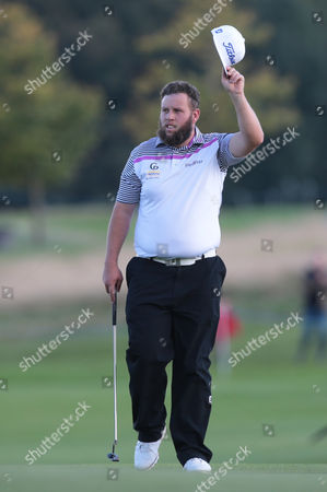 Andy Johnson of England during The British Masters 2016