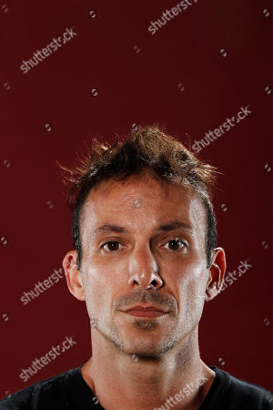 """Noah Hathaway Actor Noah Hathaway, from """"Sushi Girl"""", poses for a portrait at the LMT Music Lodge during Comic Con in San Diego"""