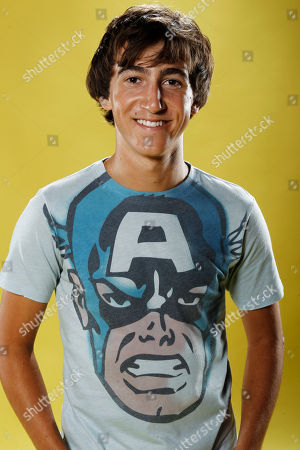 Vincent Martella Vincent Martella poses for a portrait at the LMT Music Lodge during Comic Con in San Diego