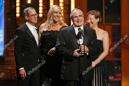 Todd Haimes Todd Haimes, second from right, and his fellow producers accept the Tony Award for Best Revival of a Musical during the 65th annual Tony Awards, in New York