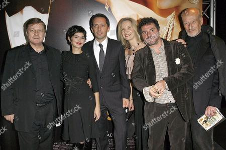 Jacques Spiesser, Audrey Tautou, Gad Elmaleh, Marie Christine Adam, Pierre Salvadori and Vernon Dobtcheff