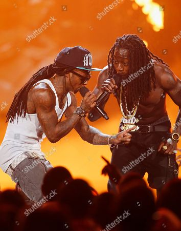 Lil Wayne, Ace Hood Lil Wayne, left, and Ace Hood perform at the BET Awards, in Los Angeles