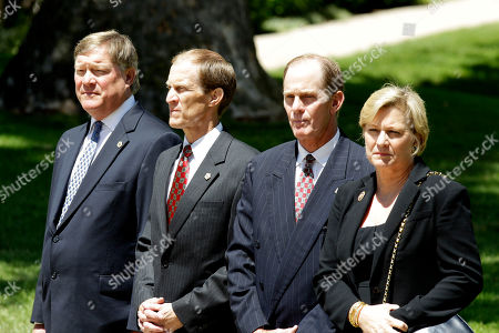 Jack Ford, Mike Ford, Steve Ford and Susan Ford Bales From left, Jack Ford, Mike Ford, Steve Ford and Susan Ford Bales watch as the casket bearing the body of former first lady Betty Ford is carried by members of the armed forces into Grace Episcopal Church in Grand Rapids, Mich