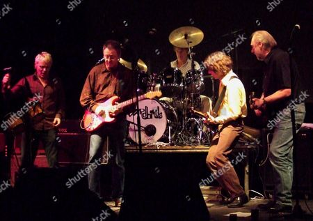 The Yardbirds - Billy Boy Miskimmin, Gypie Mayo, Jim McCarty, John Idan and Chris Dreja