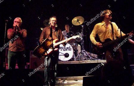 Stock Photo of The Yardbirds - Billy Boy Miskimmin, Gypie Mayo, Jim McCarty and John Idan