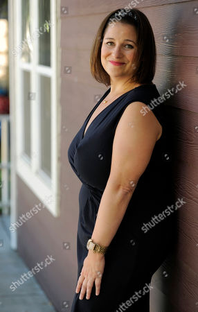 """Jennifer Weiner Author and television producer Jennifer Weiner poses for a portrait at CBS Studios in Los Angeles. Weiner is producing her first TV show, ABC Family's """"State of Georgia"""