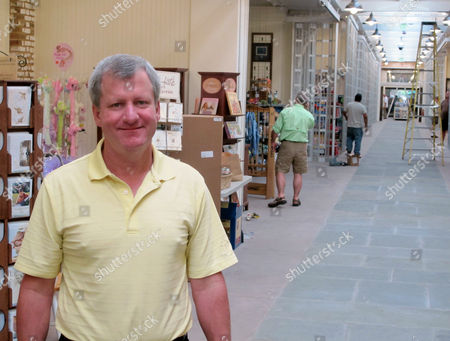 Barry Newton, the project manager for the $5.5 million renovation of the Charleston City Market in Charleston, S.C., poses inside the Great Hall of the market. The market, reopening to the public on June 27, 2011, is one of the most popular tourist attractions in the city that draws about 4 million visitors a year