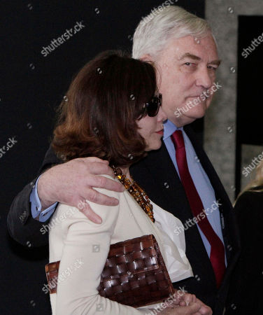 Conrad Black,Barbara Amiel Black Conrad Black and his wife Barbara Amiel Black leave federal court in Chicago, . Black, a once-powerful media mogul whose newspaper empire spanned several continents, is headed back to prison after a federal judge ruled Friday that he had not served enough time for defrauding investors. U.S. Judge Amy St. Eve sentenced Black to 3½ years in prison, but prosecutors say he will be given credit for about two years he already had served. The resentencing came after an appeals court decision last year