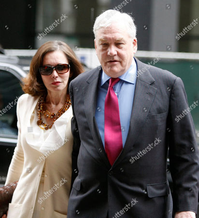 Conrad Black Conrad Black arrives at Federal Courthouse with his wife Barbara Amiel, in Chicago. Black, 66, once one of the world's most powerful media moguls, will appear in court for his re-sentencing hearing on two fraud convictions, where a judge will decide whether he heads back behind bars or remains free for good