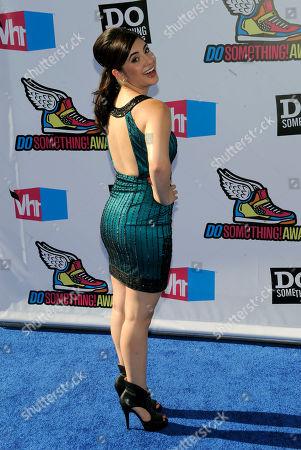 Janelle Ortiz Janelle Ortiz arrives at the Do Something Awards, in Los Angeles