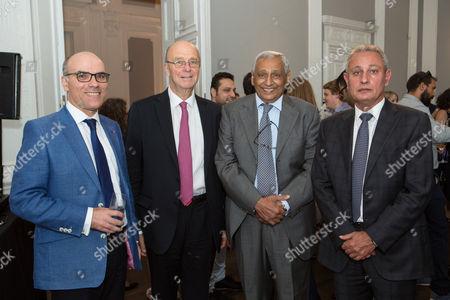 Ambassador of Tunisia Nabil Ammar, Chairman Sir Derek Plumbly, Kuwait Ambassador Khaled Al-Duwaisan and Egypt Ambassador Nasser Kamel