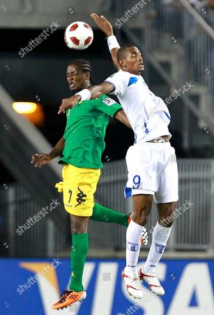 Editorial image of Honduras Jamaica Gold Cup Soccer, Harrison, USA