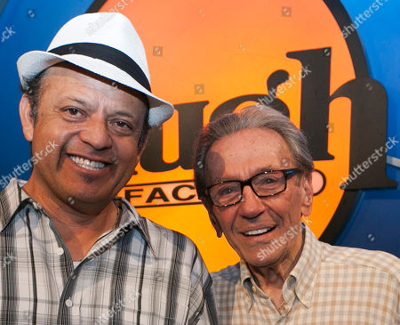 Paul Rodriguez, Norm Crosby Comedian Paul Rodriguez, left, and Norm Crosby pose for a photo as they express their support for Jerry Lewis to be reinstated as host of the annual MDA Telethon, at the Laugh Factory in Los Angeles, in Los Angeles. Lewis and the Muscular Dystrophy Association aren't saying why they're fully parting ways after 45 years and raising more than $ 1 billion for the nonprofit through its annual telethon