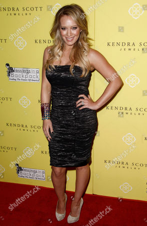 Hillary Duff Actress Hillary Duff arrives at the grand opening party for Kendra Scott Jewelry's Beverly Hills Store benefiting Blessings in a Backpack in West Hollywood, Calif