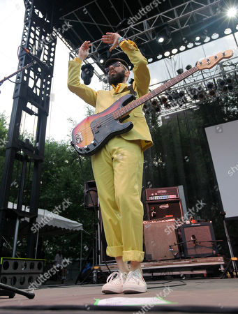 Tim Nordwind OK Go's Tim Nordwind performs during the Lollapalooza music festival at Grant Park in Chicago