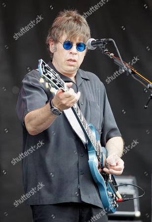 Stock Picture of Elliot Easton The Cars' Elliot Easton performs during the Lollapalooza music festival at Grant Park in Chicago