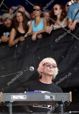 Greg Hawkes The Cars' Greg Hawkes performs during the Lollapalooza music festival at Grant Park in Chicago