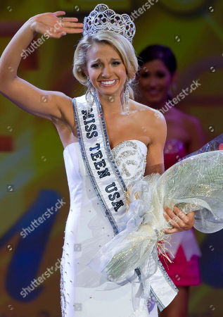 Danielle Doty Miss Teen USA 2011 Danielle Doty, 18, of Harlingen, Texas, waves to the crowd as she takes her first walk after being crowned during the beauty pageant in Nassau, Bahamas